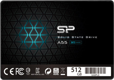 "Silicon Power A55 512GB 2.5"" SATAIII TLC (SP512GBSS3A55S25)"