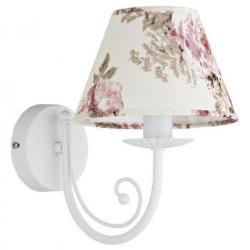 Бра TK Lighting 370 White Rosa