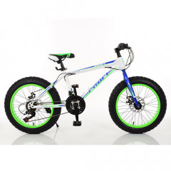 "Велосипед Profi 20"" EB20POWER 1.0 S20.3 White-Blue-Lime Green (EB20POWER 1.0)"