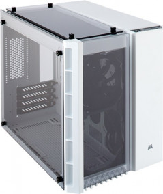 Корпус Corsair Crystal Series 280X Tempered Glass Micro ATX Case White (CC-9011136-WW)