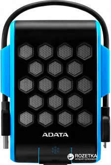 Жесткий диск ADATA Durable HD720 1TB AHD720-1TU31-CBL 2.5 USB 3.1 External Blue