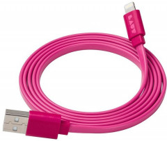 Кабель LAUT Usb Cable to Lightning 1.2m (LAUT_LK_LTN1.2_P) Pink