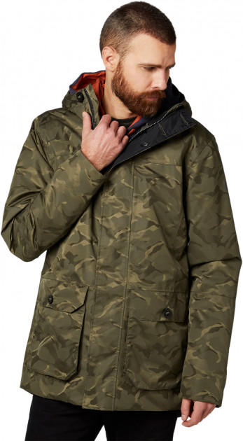 Парка Helly Hansen Killarney Parka 53070-482 S Зеленая Милитари (7040055612455)