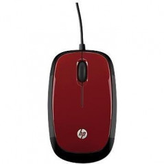 HP Mouse X1200 (Flyer Red) (H6F01AA)