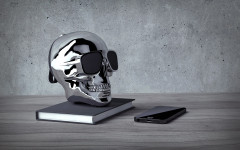 Акустика Jarre AeroSkull XS+ Chrome (ML 80070) Silver