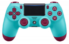 Беспроводной геймпад PlayStation Dualshock V2 Bluetooth PS4 Berry Blue