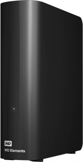"Жесткий диск Western Digital Elements Desktop 8TB WDBWLG0080HBK-EESN 3.5"" USB 3.0 External Black"