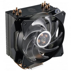 Кулер процессорный Cooler MasterAir MA410P (MAP-T4PN-220PC-R1), Intel: 2066/2011-v3/2011/1151/1150/1155/1156/1366, AMD: AM4/AM3+/AM3/AM2+/AM2/FM2+/FM2/FM1, 84х129х158.5 мм, 4-pin