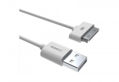 Кабель Romoss CB11 USB-Apple 30pin, 1м White (311010)