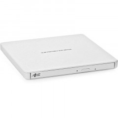Привод DVD+/-RW Hitachi-LG GP60NW60 USB Ext Slim White