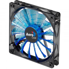 Вентилятор Aerocool Shark Fan Blue LED Retail 120мм