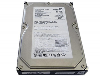 Накопичувач HDD IDE 120GB Seagate Barracuda 7200.9 7200rpm 2MB (ST3120213A) гар. 12 міс.