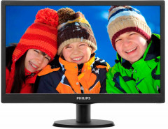 "Монитор Philips 18.5"" 193V5LSB2/62 Black; 1366 x 768, 200 кд/м2, 5 мс"