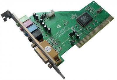 Звуковая карта Atcom PCI SOUND CARD 4CH (C-MEDIA 8738) (10715)