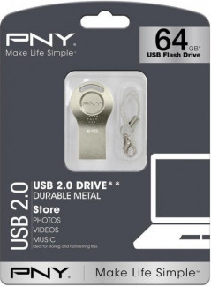 PNY Attache i 64GB Silver (FDI64GATTI-EF)