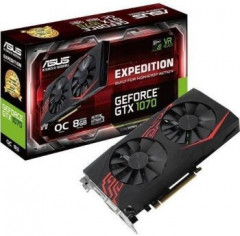 GeForce GTX1070 8192Mb Asus Dual Expedition OC