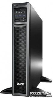 APC Smart-UPS X 1000VA Rack/ Tower LCD (SMX1000I)