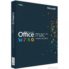 Офисное приложение Microsoft Office Mac Home Business 2011 (W6F-00211)