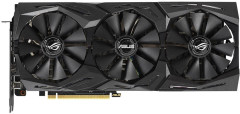 Asus PCI-Ex GeForce RTX 2070 ROG Strix OC 8GB GDDR6 (256bit) (1410/14000) (USB Type-C, 2 x HDMI, 2 x DisplayPort) (ROG-STRIX-RTX2070-O8G-GAMING)