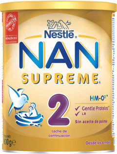 Смесь Nestle NAN Supreme 2 с олигосахаридами с 6 месяцев 800 г (7613035943742)