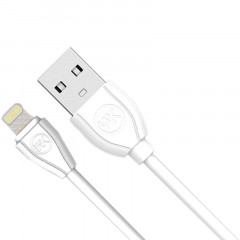 Кабель WK Ultra WDC-004 USB-Lightning, 1м White (346533)