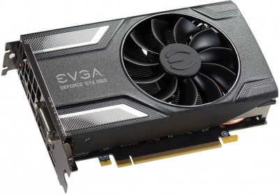 EVGA PCI-Ex GeForce GTX 1060 SC Gaming 6GB GDDR5 (192bit) (1607/8008) (DVI, HDMI, 3 x DisplayPort) (06G-P4-6163-KR)