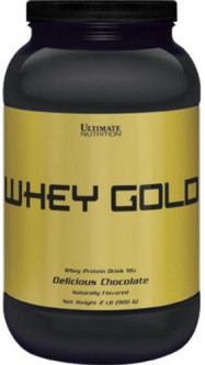 Протеин Ultimate Nutrition Whey Gold 907 г Chocolate (99071373502)
