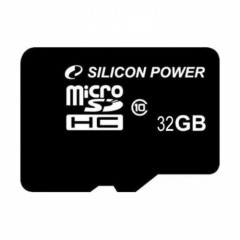 Карта памяти microSDHC 32Gb Silicon Power Class 10