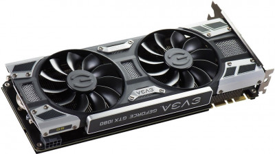 EVGA PCI-Ex GeForce GTX 1080 SC Gaming ACX 3.0 8GB GDDR5X (256bit) (1708/10000) (DVI, HDMI, 3 x DisplayPort) (08G-P4-6183-KR)