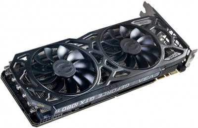EVGA PCI-Ex GeForce GTX 1080 Ti SC Black Edition Gaming 11GB GDDR5X (352bit) (1556/11016) (DVI, HDMI, 3 x DisplayPort) (11G-P4-6393-KR)