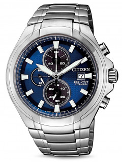 Часы Citizen CA0700-86L Eco-Drive Super-Titanium Chrono 43mm 10ATM