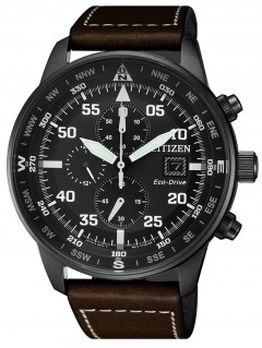 Часы Citizen CA0695-17E Eco-Drive Chronograph 44mm 10ATM