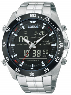 Часы Lorus RW611AX9 Analog-Digital Alarm Chronograph 100M 46mm