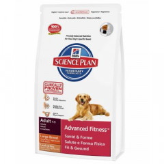 Сухой корм для собак Hill's Science Plan Canine Adult Advanced Fitness Large Breed Lamb & Rice 3 кг
