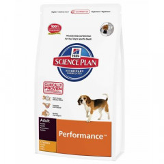 Сухой корм для собак Hill's Science Plan Canine Adult Performance Chicken 12 кг