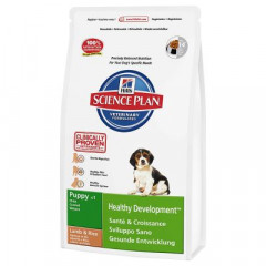 Сухой корм для собак Hill's Science Plan Canine Puppy Healthy Development Medium Lamb & Rice 1 кг