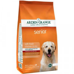 Сухой корм для собак Arden Grange Senior Fresh Chicken & Rice 2 кг