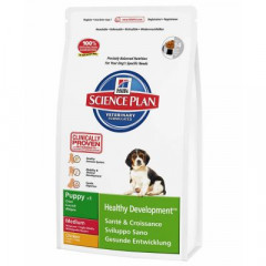 Сухой корм для собак Hill's Science Plan Canine Puppy Healthy Development Medium Chicken 3 кг