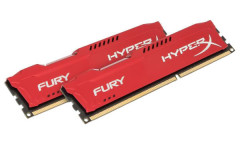 Оперативная память HyperX DDR3-1866 8192MB PC3-14900 (Kit of 2x4096) FURY Red (HX318C10FRK2/8)