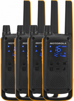 Рация Motorola Talkabout T82 Extreme Quad Pack WE (B8P00811YDEMAQ)