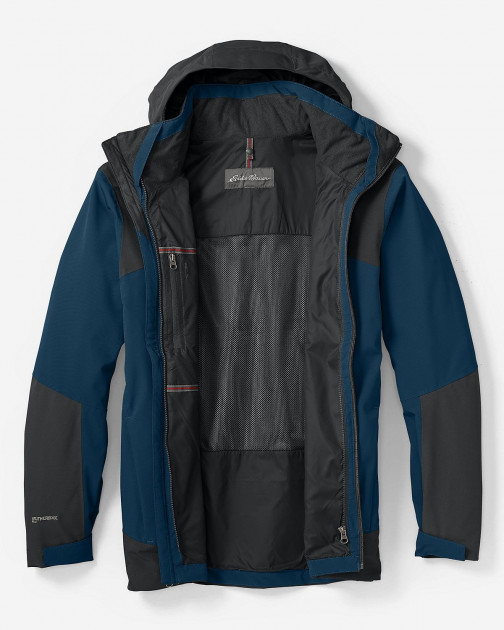 Куртка Eddie Bauer Mens All-Mountain Shell CREEK XXL Синий (0995CE)