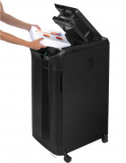 Шредер Fellowes AutoMax 550С 550 аркушів 4х38 мм 83 л (f.U4963101) - зображення 7