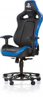 Кресло игровое Playseat L33T Playstation Black/Blue (GPS.00172)