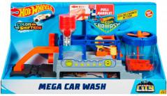 Игровой набор Hot Wheels Измени цвет Бешеная автомойка (08879616390889) (FTB66)