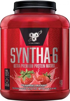 Протеин BSN Syntha-6 2.27 кг Strawberry Milkshake (834266007158)