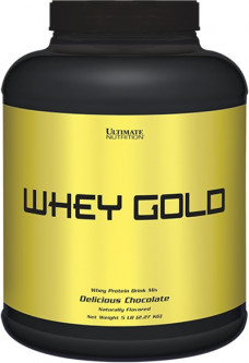 Протеин Ultimate Nutrition Whey Gold 2270 г Шоколад (4384301103)