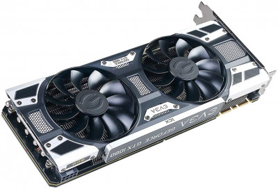 EVGA PCI-Ex GeForce GTX 1080 SC2 Gaming 8GB GDDR5X (256bit) (1708/10010) (DVI, HDMI, 3 x DisplayPort) (08G-P4-6583-KR)