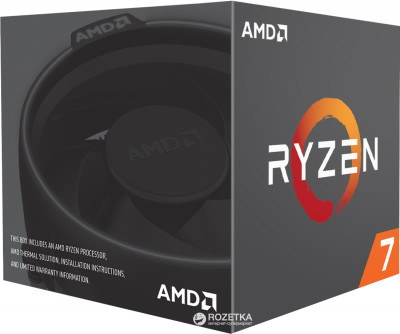 Процесор AMD Ryzen 7 2700 3.2GHz/16MB (YD2700BBAFBOX) sAM4 BOX