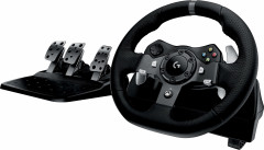 Проводной руль Logitech G920 Driving Force PC/Xbox One Black (941-000123)