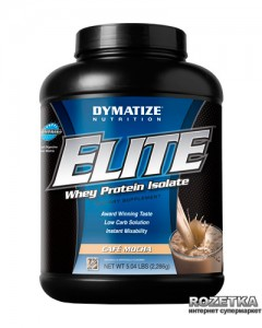 Протеин Dymatize Nutrition Elite Whey 2.27 кг Cafe Mocha (705016560035)